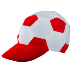 Czapka z daszkiem z motywem piłkarskim - R08775