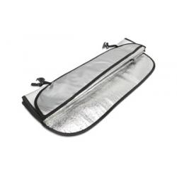 Składana aluminiowa osłona na szybę samochodową - kc7141-16
