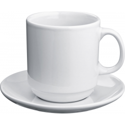 Ceramiczna filiżanka o poj. 300 ml - 8878506