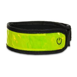 Opaska LED - żółta