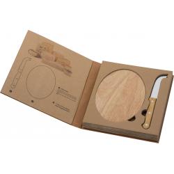 Deska do serów z nożem - 8019113