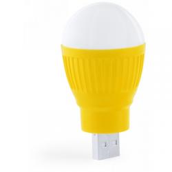 """Lampka USB """"żarówka"""", 1 LED - V3493"""
