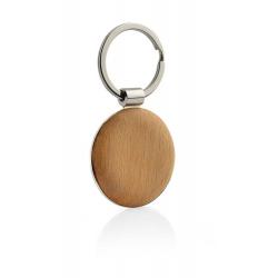 Brelok z drewna i metalu - 17619