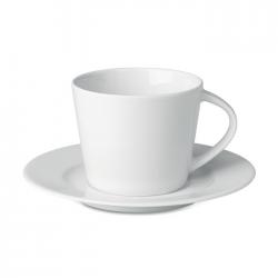 Kubek cappuccino i talerzykiem - mo9080