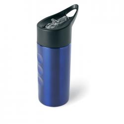 Metalowa butelka, ze słomką - mo7841