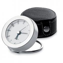 Zegar podróżny w metalowej ramce - IT3577