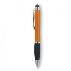 Przekręcany długopis z ABS z miękkim uchwytem - MO9142