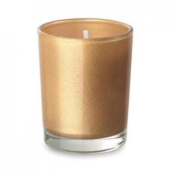 Zapachowa mała świeca w barwionym szklanym pojemniku - MO9030