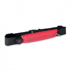 Regulowany pas do biegania z świecącymi diodami LED - MO9114