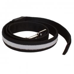 Smycz dla psa z paskiem podświetlenia LED i metalowym karabińczykiem - r73622