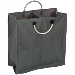 Duża torba na zakupy z dwiema przegrodami oraz wytrzymałymi uchwytami - 6043577