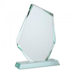 Szklane trofeum w kształcie szlachetnego kamienia - R22190