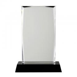 Kryształowe trofeum o klasycznym kształcie - R22181
