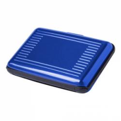 Aluminiowe etui na karty z zabezpieczeniem RFID - AP781513
