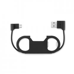 Otwieracz do butelek z kablem ładującym USB oraz micro USB - MO9346