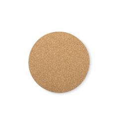 Okrągła podkładka korkowa - MO9298
