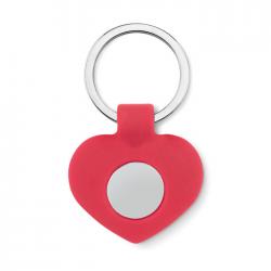 Silikonowy brelok w kształcie serca - MO9208-05