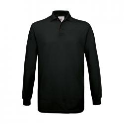 Koszulka polo męska z długim rękawem - BC0554
