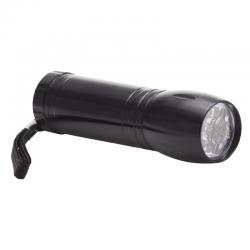 Aluminiowa 9 diodowa latarka LED - R35631