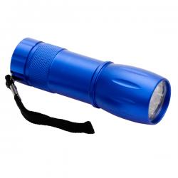 9 diodowa latarka LED wykonana z aluminium - R35660