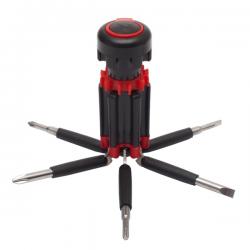 Zestaw 5 wkrętaków podświetlanych 4 diodami LED - R17509