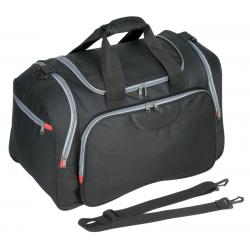Obszerna torba podróżna z dużą kieszenią główną i dwiema bocznymi - R08626