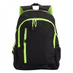 Wykonany z poliestru 600 D dwukomorowy plecak - R08548
