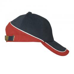 6 panelowa czapka z bawełny - R08724.04