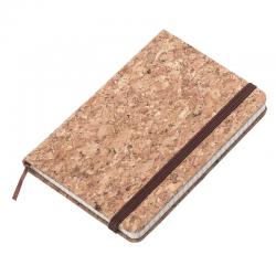 Notatnik A6 oprawiony w okładkę z korka - R64223