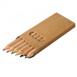Zestaw drewnianych kredek - R73778