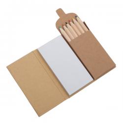 Zestaw kredek z notatnikiem - R73673