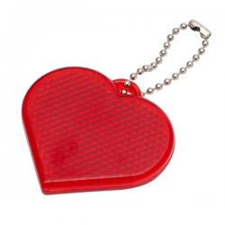 Światełko odblaskowe w kształcie serca - R73162