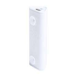 Trójkątny, plastikowy power bank z przyssawkami i baterią o pojemności 2200mAh - AP741927
