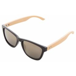 Plastikowe okulary z bambusowymi zausznikami - AP810395