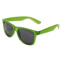 Plastikowe okulary z transparentną oprawą i filtrem UV400 - AP781287