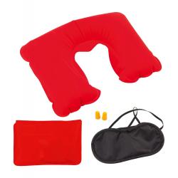 Poduszka, opaska na oczy i zatyczki do uszu - AP791976