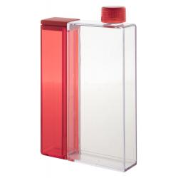 Prostokątna, transparentna butelka z odłączaną częścią - AP800396