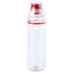 Przezroczysty, plastikowy bidon z kolorową koncówką do picia, 750 ml - AP781660