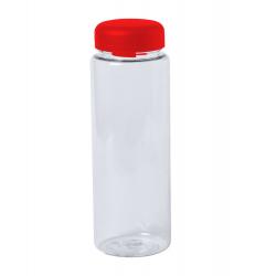 Przezroczysty, plastikowy bidon/ butelka sportowa 550 ml - AP781663
