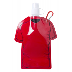 Butelka sportowa w kształcie T-shirta z karabińczykiem 480 ml - AP781214