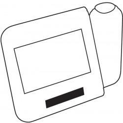 Zegar na biurko z projektorem - 56-0401077