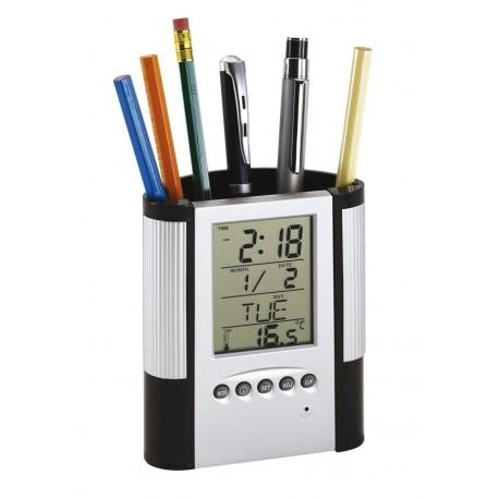 Zegar z wyświetlaczem LCD - 0401315