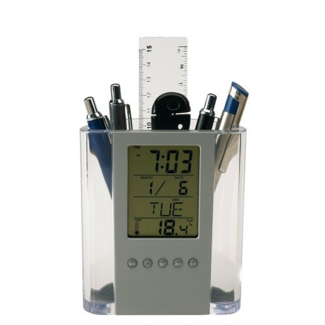Zegar z wyświetlaczem LCD - 56-0401316