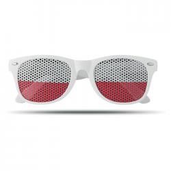 Okulary z soczewkami w kolorze flagi - MO9275