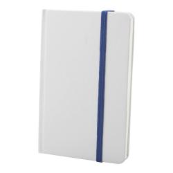 Biały notes z kolorową gumką - AP741148