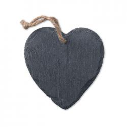 Zawieszka świąteczna w kształcie serca - MO9359