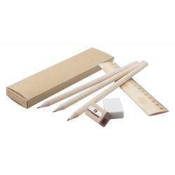 Zestaw ołówek, linijka, temperówka i gumka - AP791260