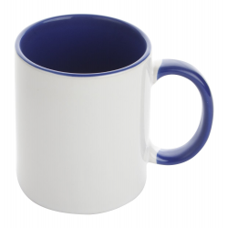 Kubek ceramiczny z kolorowym wnętrzem i uchem - AP791325