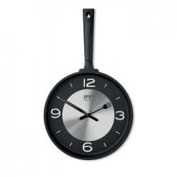 Zegar ścienny w kształcie patelni z ABS - MO9410