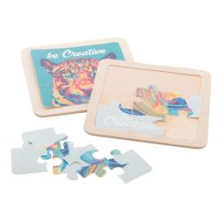 Plastikowe puzzle 9 elementw - AP718155